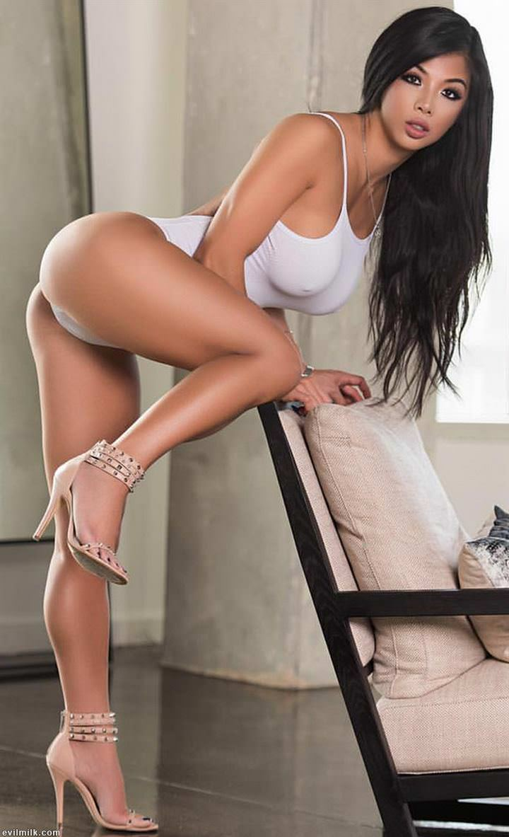 Glamour legs in heels naked
