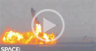 Boom! SpaceX Starship SN10 explodes shortly after